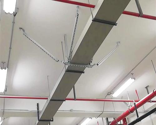 风管抗震支吊架应用案例